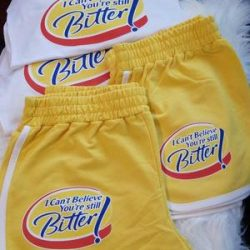 I Can't Believe your still better 2pc short set