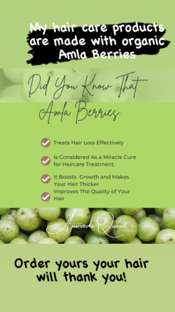 Amla Berries For Hair Growth