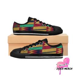 Kente print / African Print Women's Sneakers