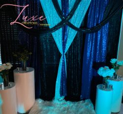 Event draping