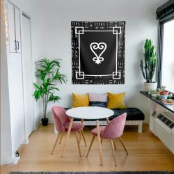 Sankofa Indoor Wall Tapestries / Adinkra Wall decore