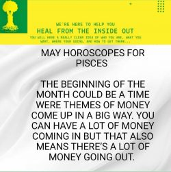 May Horoscope for PISCES