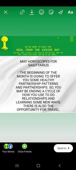 May Horoscope for Sagittarius