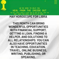 May Horoscope for Libra
