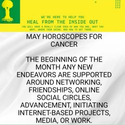 May Horoscope for Cancer