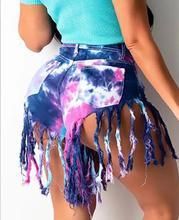 Purple Dye Shorts