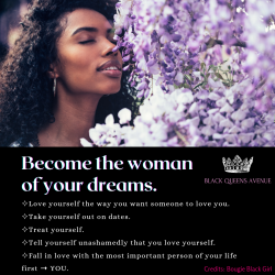 Become the woman of your dreams💜