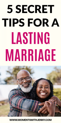 5 Secret Tips For A Lasting Marriage | Marriage advice