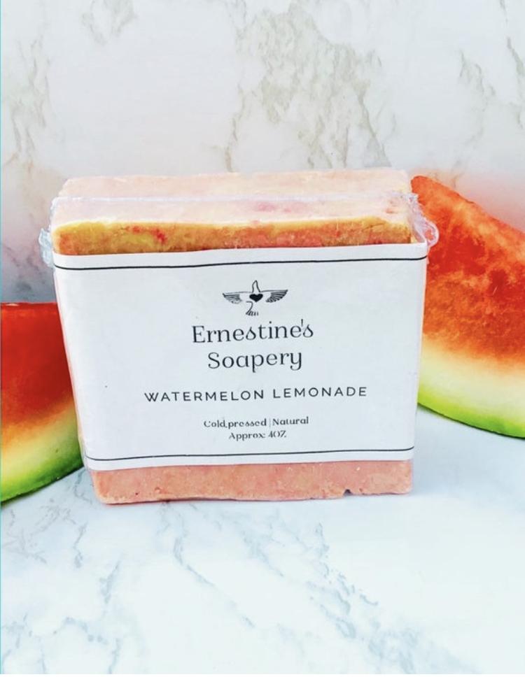Homemade vegan natural soap