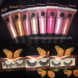 Goddess Gloss and Lashes!