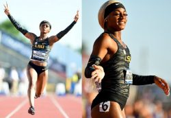 Sha'Carri Richardson, 2nd fastest woman in the world, just behind Shelly-Ann Fraser Pryce