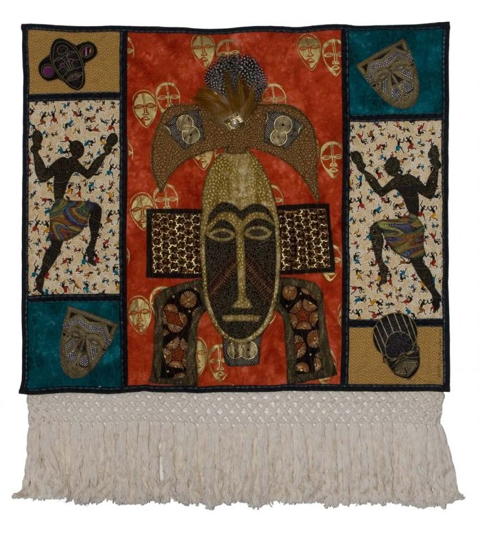 Another Afro-centric quilt by Cookie Washington www.cookiesewsquilts.com