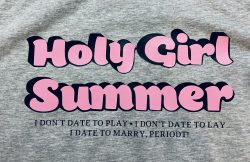 Holy Girl Summer t-shirt