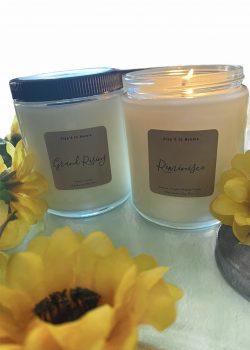 Hand Pour Soy Wax Candles