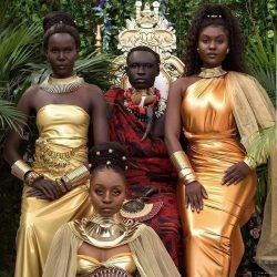 Black is Beautiful 💫 Models @bu.kola (Nigeria 🇳🇬), @queenfanta.c (Guinea 🇬🇳), @lim_chuol (S Suda ...