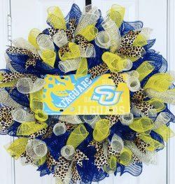 Southern University Jaguars Wreath (Jags)