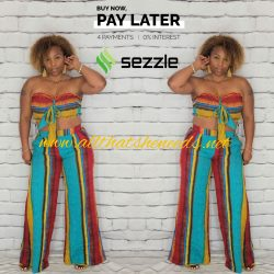 In Living Color Pant Suit