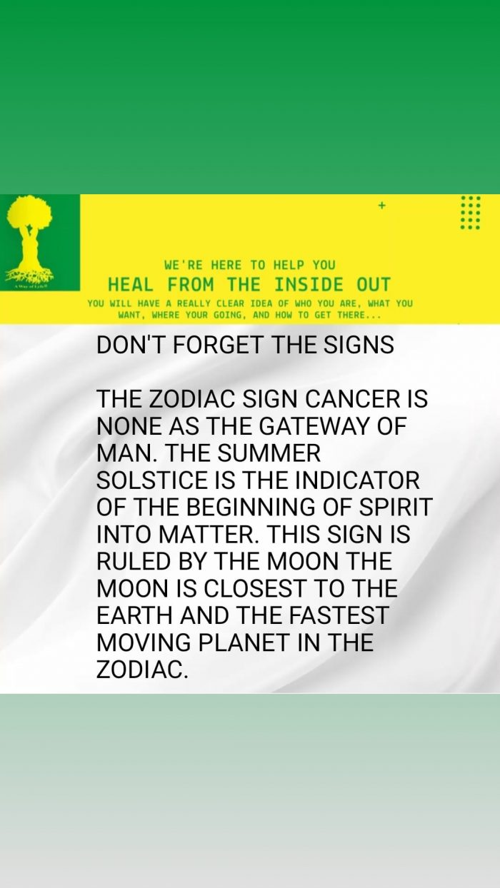 Don't Forget The Signs