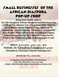 The Shops of The African Diaspora