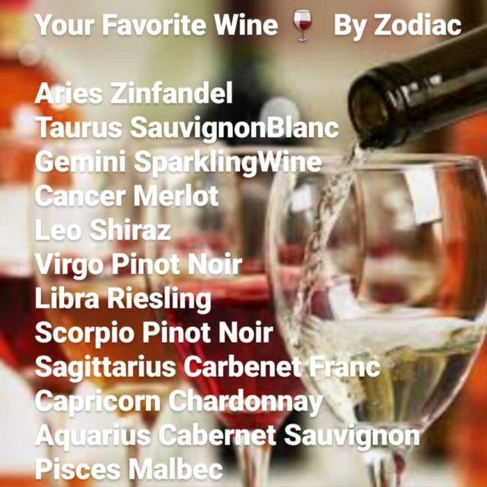 Wine by zodiac