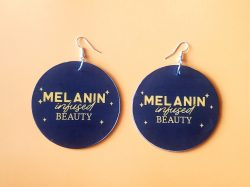 Melanin Infused Beauty | Afrocentric Earrings | Melanin | Afrocentric Jewelry