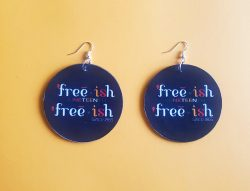 Free-ish | Afrocentric Earrings | Afrocentric Accessories | Juneteenth