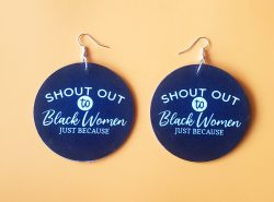 Shout out to Black Women | Afrocentric Earrings | Afrocentric Jewelry | Black Women |