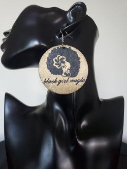 Black Girl Magic | Afrocentric earrings | Melanin magic | Jewelry | Self love | $5 Sale