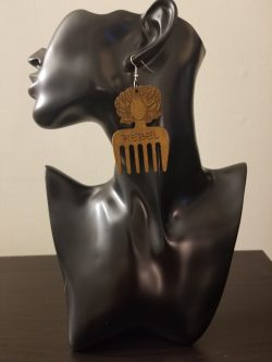 Rebel | Afrocentric earrings | Jewelry | Rebel | Afrocentric jewelry | $5 Sale