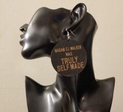 Self Made | Afrocentric earrings | Black earrings | Black entrepreneur | $5 Sale