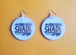 Every Shade Slays | Afrocentric Earrings | Jewelry | Melanin | Black is Beautiful