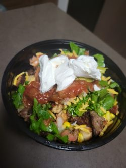 Homemade Chipotle Bowl