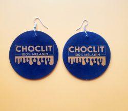 ChocLIT | Afrocentric Earrings | Melanin Skin | Black is Beautiful | Brown Skin Girl
