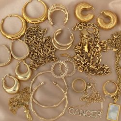 18kt Gold Plated Jewelry
