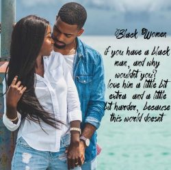 Black men, we love you!