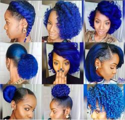 Blue Hair Inspo