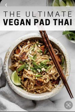 Vegan Pad Thai 😋