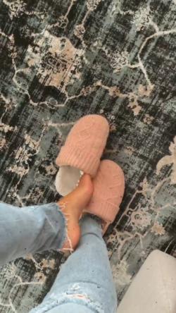 I want those slippers