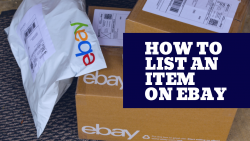 How to List an Item on eBay