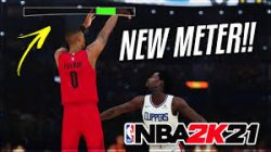 I will go out on a limb and state that NBA 2K21 on PS5