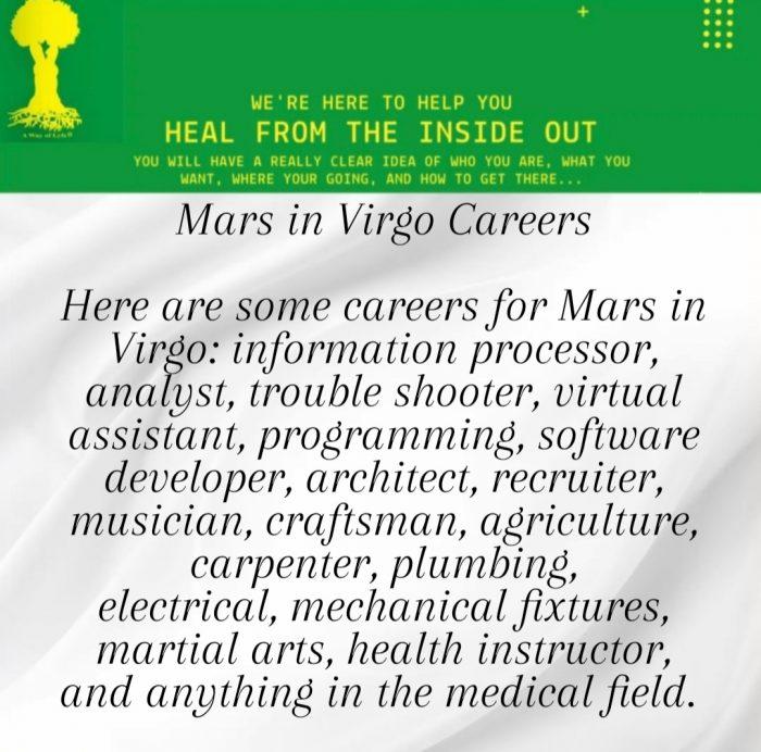 Mars enters Virgo