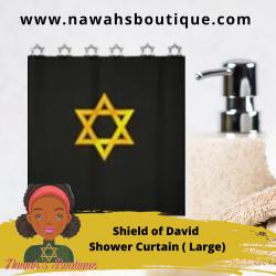 Shield of David Shower Curtain