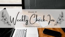 Weekly Check-In | Week 01