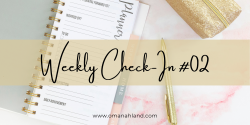 Weekly Check-In #02