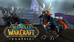 How do the Flight Mounts function in World of Warcraft: The Burning Crusade?