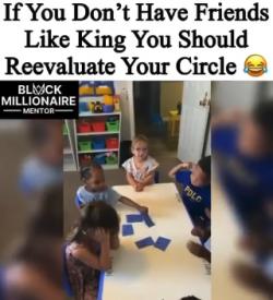 Hahahaa…I need me a King on my team…Lol