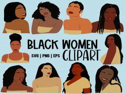 Black Women Clipart
