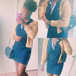 Preppy Black Woman