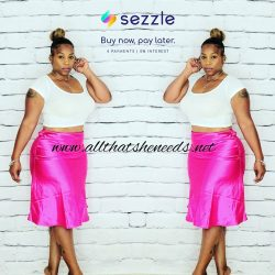 Between the Sheets Skirt