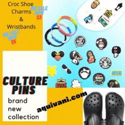 Get your Culture Pins & Wristbands @aquivani.com